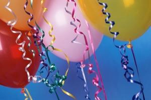 Balloons, Ribbons
