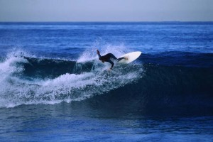Starting against, surfing, catching a wave